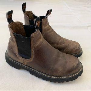 Ariat Spot Hog Boots Distressed Size 7D